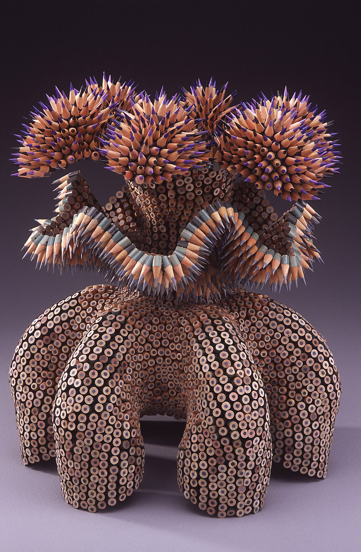 Jennifer Maestre unique pencil sculptures